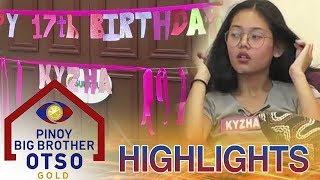 Teen Housemates, naghanda na para sa birthday ni Kyzha | PBB OTSO Gold