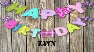 Zayn   wishes Mensajes
