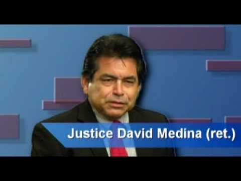 Justice David Medina discusses his background in Mediation and Arbitration Services