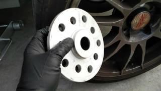 VW Golf R adding 10mm rear spacers on OZ wheels  - warning / advice about lug bolts