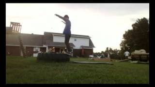 11 year old doing backflips