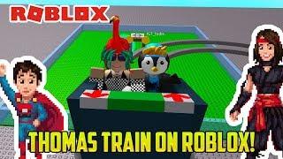 CRAZY WEIRD Thomas Games on ROBLOX?!