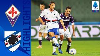 Fiorentina 1-2 Sampdoria | La Sampdoria trova i primi punti stagionali | Serie A TIM
