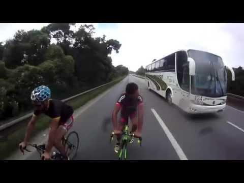 На велосипеде со скоростью 124 км/ч