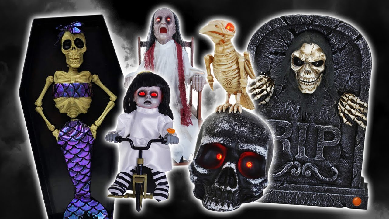 Halloween 2020 Lot Big Lots Halloween 2020 Animatronic Lineup #1! (Returning Props