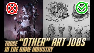 """Those """"OTHER"""" art jobs in the game industry"""