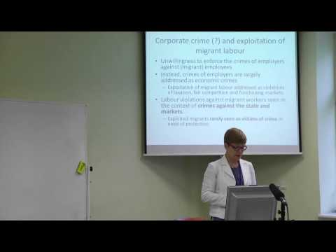 Natalia Ollus - European Group 43th Annual Conference, Tallinn 2015