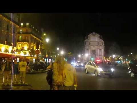 28 Paris: Pont Saint Michel, miercoles de julio, 23:30 Hs.
