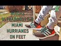 Adidas Ultra Boost 4 0 Miami Hurricanes On Feet