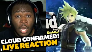 CLOUD STRIFE IN SMASH WII U! - My Reaction (Nintendo Direct Gameplay Trailer)