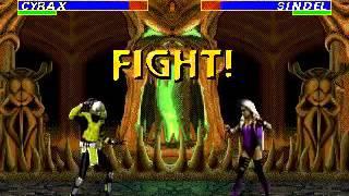 Mortal Kombat 3 - Cyrax (Sega Genesis) (By Sting)