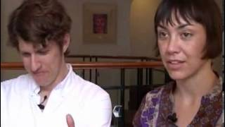 The Bird and The Bee 2007 interview - Greg Kurstin and Inara George (part 1)