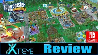 RollerCoaster Tycoon Adventures - Switch Review | Gamers Xtreme