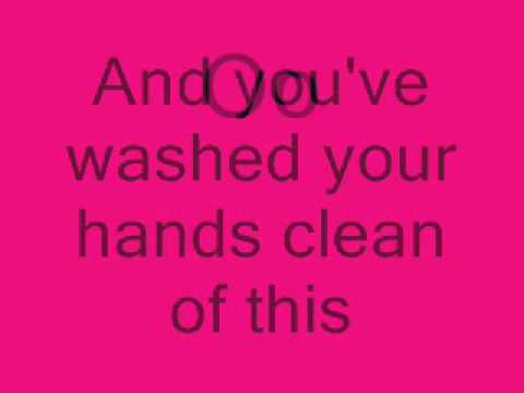 Alanis Morissette- Hands Clean with Lyrics