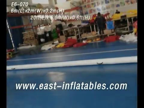 E6-070 AirTrack Air Tumbling Track Indoor Gymnastics Trampoline - East Inflatables