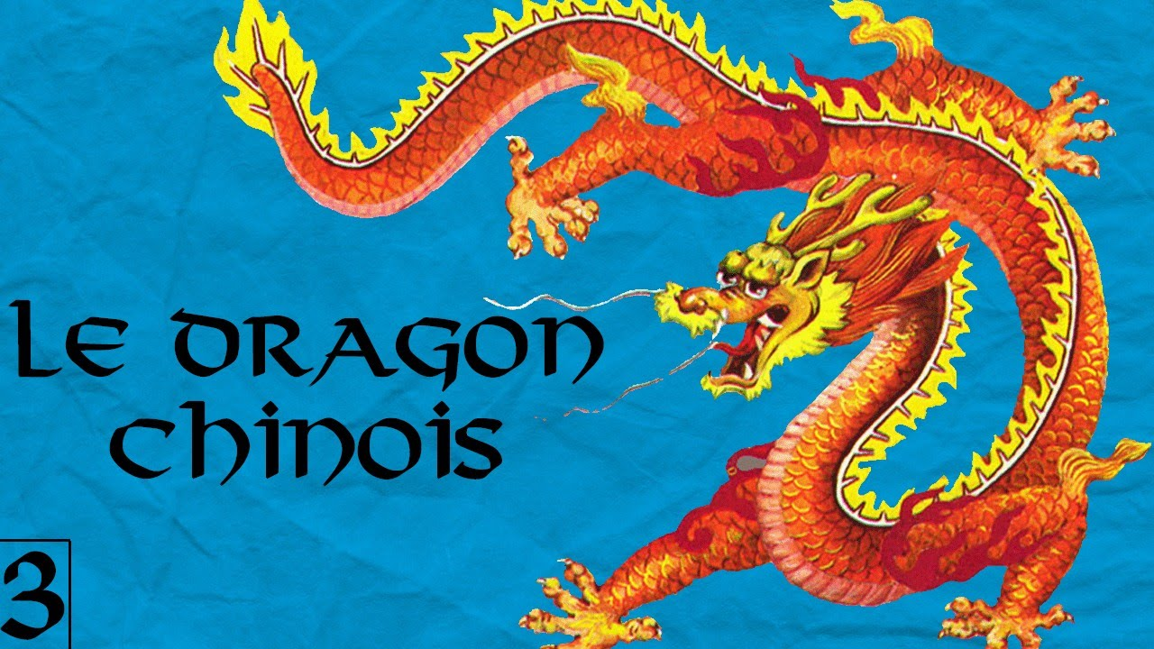 Dragon Chinois les dragons (partie 1 : le dragon chinois) - mdl #3 - youtube