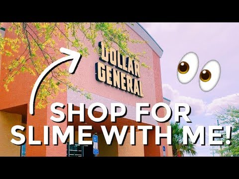 SHOPPING FOR SLIME SUPPLIES AT DOLLAR STORES  | Store Bought Slimes & More!