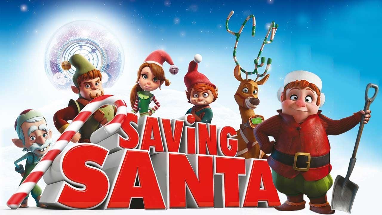 Zamanda Yolculuk (Saving Santa) Animasyon Filmi | Full Film İzle