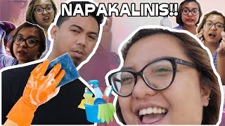 LAKAS MAKA HOUSEWIFE!! | CLEANING OUR ROOM (ANTI-ALLERGY)