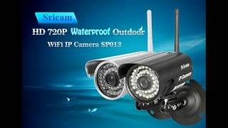 sricam sp013 720p h 264 wifi ip camera unboxing review