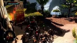 Overlord II Xbox 360 Gameplay - Minion Destruction Pt. 1