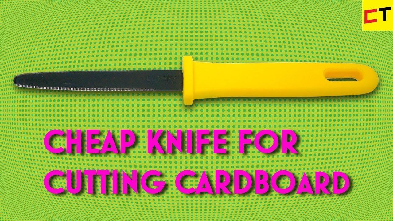 Cut cardboard easily
