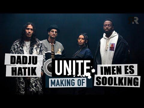 Youtube: DADJU, HATIK, IMEN ES, SOOLKING – MAKING OF: Dans les coulisses du tournage du clip Unité…