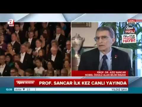 ''Osmanlı tarihiyle her zaman gurur duydum''Aziz Sancar