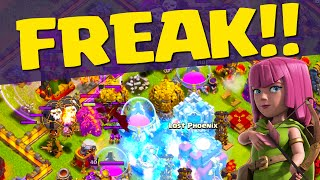 Clash of Clans ♦ Welcome to the FREAK SHOW ♦ BEST Base EVER? ♦ CoC ♦