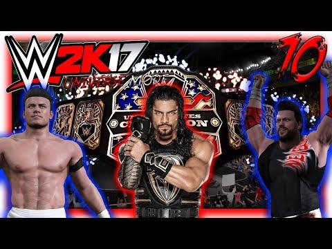 FRANKY VS ALEX VS REIGNS PER IL TITOLO DEGLI STATI UNITI!! #70 WWE 2K17 Universe Mode