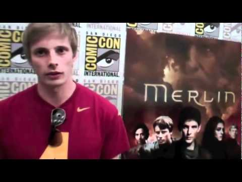 Bradley James, Katie McGrath and Anthony Head Interviews from Merlin Comic Con 2011