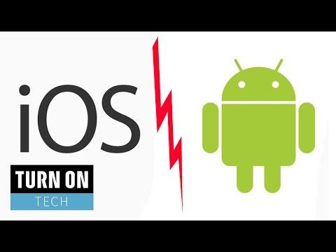 IOS Oder Android - Welches Ist Denn Nun Das Beste Mobile OS? - TURN ON Tech Spezial