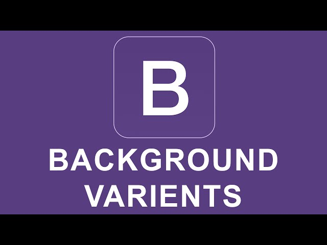 Bootstrap 4 Tutorial 28 - Card Background Varients