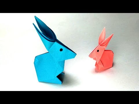 How To Fold A Paper Rabbit — Easy Origami Bunny
