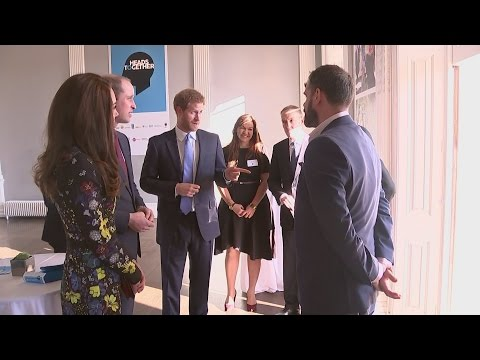 Harry joins William and Kate to speak out...