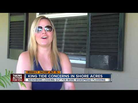'King Tide' concerns for waterfront neighborhoods in Tampa Bay