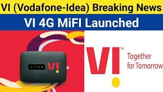 Vodafone Idea VI Launch a New Device | VI 4G MIFI To Tackle Jiofi In India