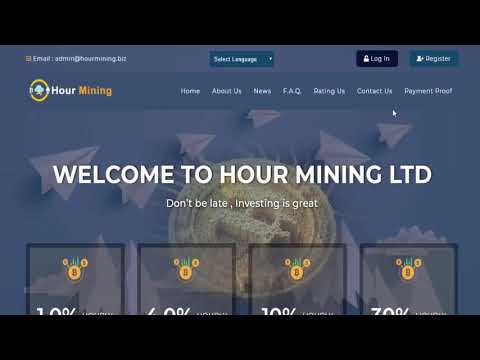 1 Hour Mining LTD New High Paying Bitcoin Investment Site!! Profit Coin!!2019