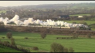 The Majesty of UK Steam locomotives - A 2013 compilation
