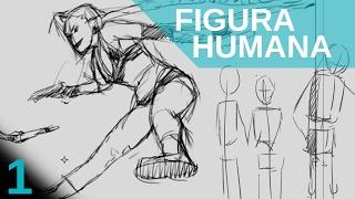 Como dibujar FIGURA HUMANA. Lo primero que debemos hacer. Principiantes.