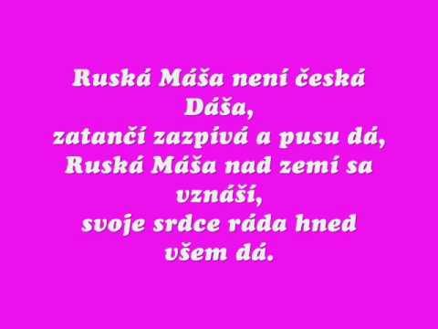 Michal David-Ruská Máša