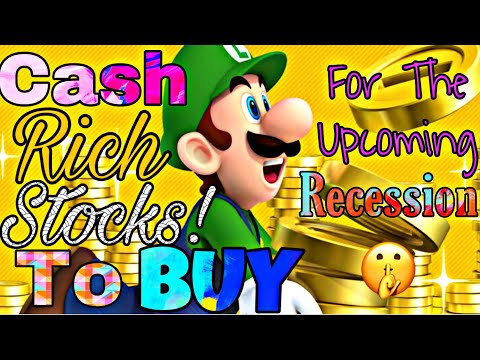 Top 5 CASH Rich Companies Stock To Buy NOW Before The UPCOMING Recession Stock Market Investing