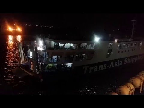 Trans-Asia 8 Departs Cebu Port for Nasipit