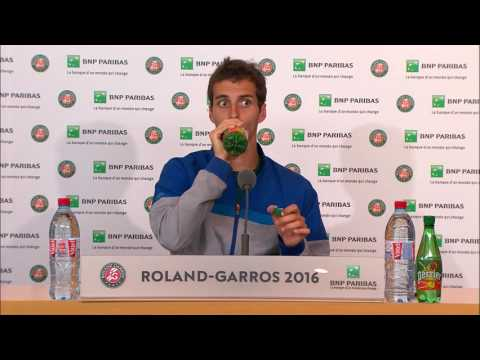 French Open: Albert Ramos-Vinolas Quarter-final Interview
