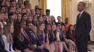 Intern Q&A with the President (a West Wing Week Special Edition)