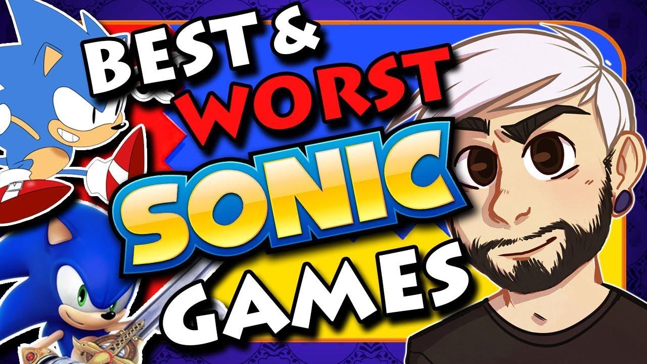 The Best & Worst Sonic The Hedgehog Games - gillythekid