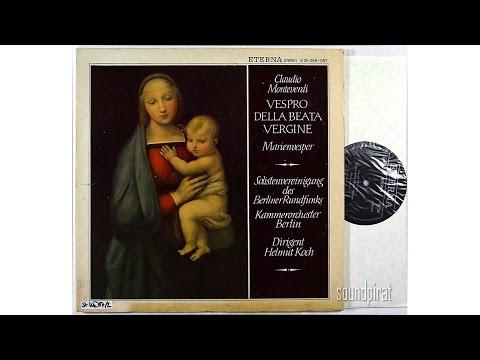 Claudio Monteverdi - Marienvesper. Helmut Koch