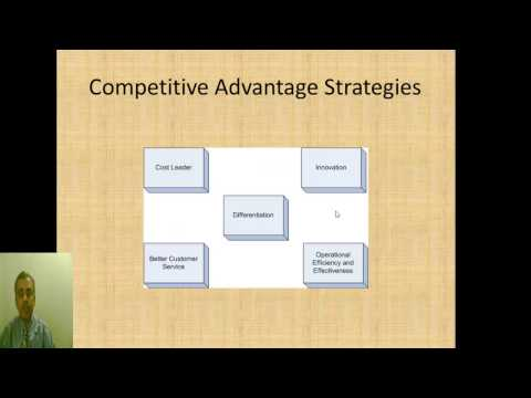 Organizational Strategy Compe Ive Advantage And Information Systems