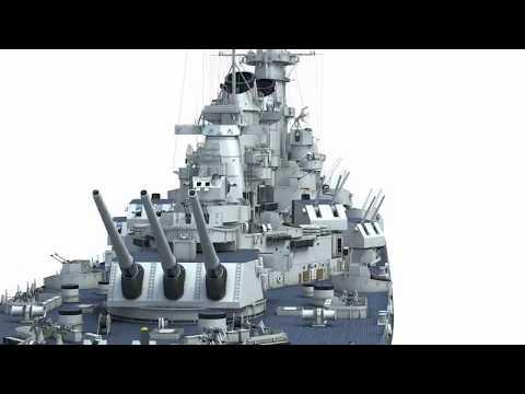 Battleship USS Missouri 3D - Kagero Publishing's book by Stefan Dramiński