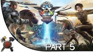 "Ark: Survival of the Fittest - Part 5: ""Pteronodon Taming!"" (New Gametype)"